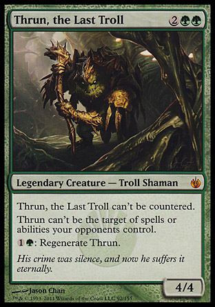 thrun the last troll